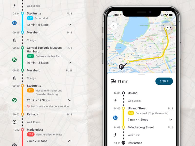 Design of Timeline components ride design app map user interface mobile app design ui design system timeline components