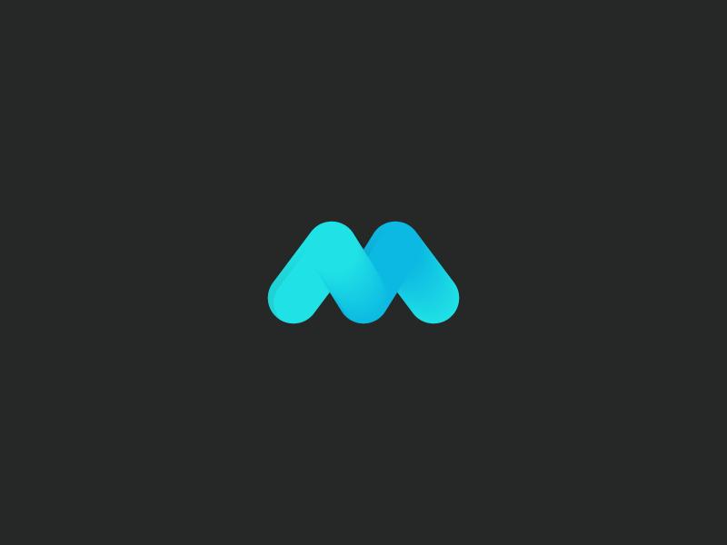 M Logo logo designer branding brand identity identity brand design logo design m logotype logomark logo