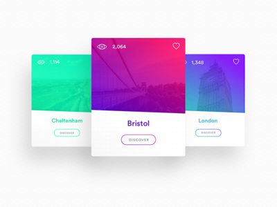 Daily ui #008 Hometowns