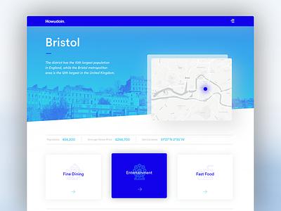 Daily ui No.15 - Bristol web web design digital design visual design ux bristol design bristol interface design user interface ui daily ui daily