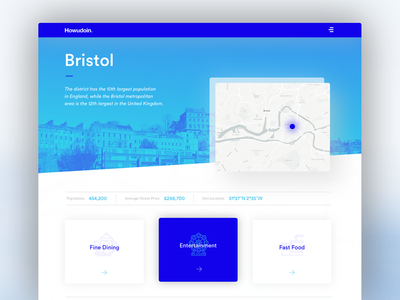 Daily ui No.15 - Bristol web web design digital design visual design ux bristol design bristol interface design user interface ui daily ui daily