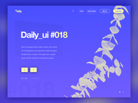 No.18 in the daily ui series