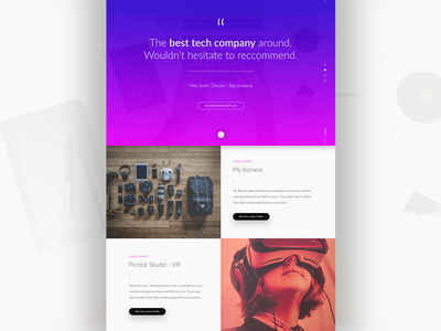 Daily ui no.26 interface design user interface landing page homepage ui designer ux daily ui ui web design web vr tech