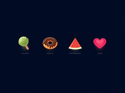 Gift icon 设计 illustrations 应用 插图 ui