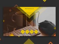 Metropolis Portfolio Landing Page