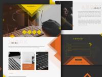 Metropolis personal portfolio template