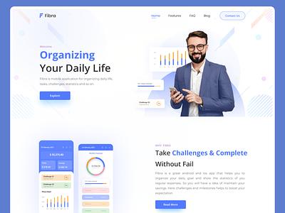 Fibra   Finance App Hero Exploration homepage web page design designer minimalism bank pay application 2021 landing page trending website web design web finance