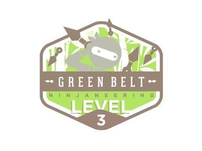 Ninjaneering badge level 3