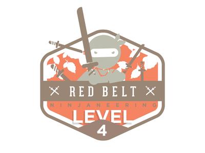 Ninjaneering badge level 4