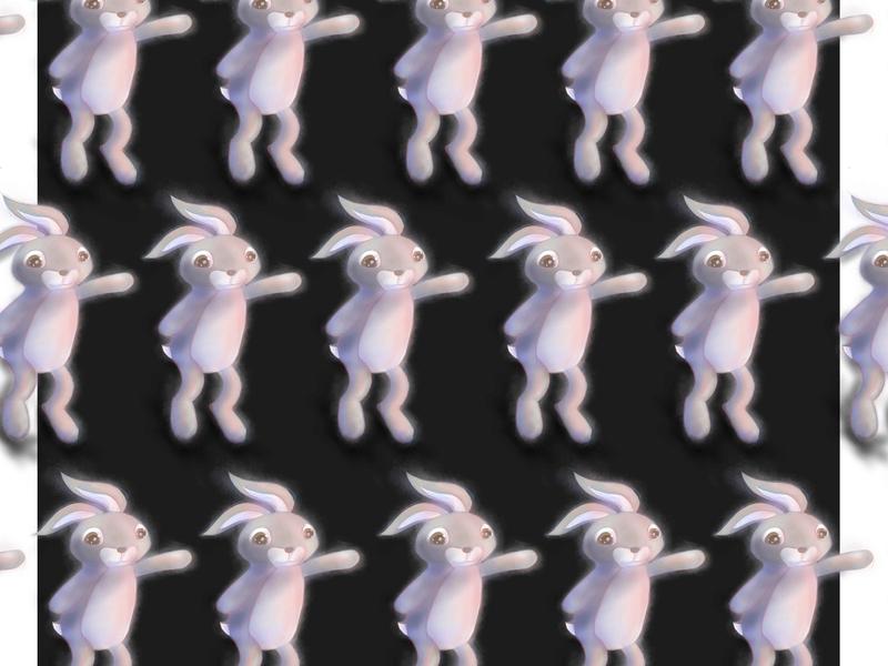 Annoying Tes design montesquieu rabbit bunny drawing procreate