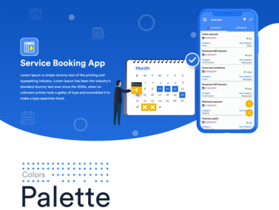 Services Booking Mobile App Reminder - Case Study