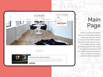 E Commerce Project ecommerce design webdesign ui uiuxdesign design branding ecommerce