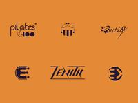 Logofolio- Half year of the 2020 typography icon psd ai logo design logo illustration