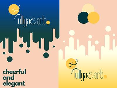 Fullya_Art brand logo design typography logo illustration design