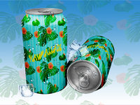 Hawaiian Soda Can