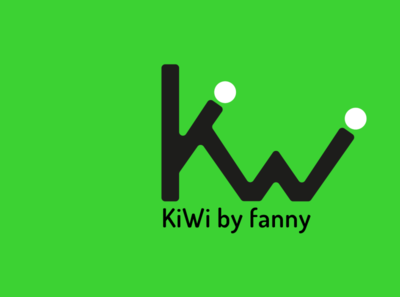 KIWI the future brand of a promising artist ... design logo vector
