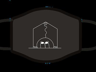 Lockdown illustration vector