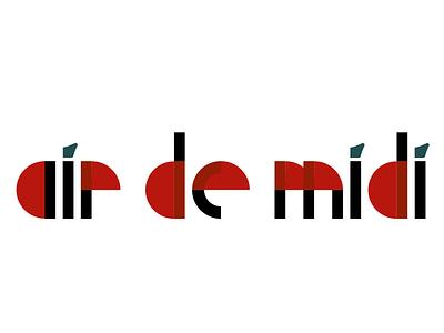 Air de Midi logo vector