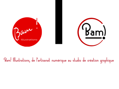 Bam! Illustrations vector logo
