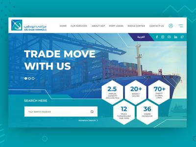 ADT Website branding design website ui ux