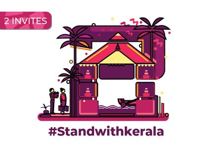 2x Dribbble Invites #Standwithkerala