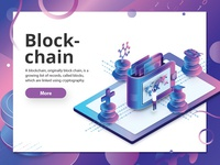 Blockchain military medicare isometric design isometric education blackchain diotechnology biotech design currency crypto bitcoin