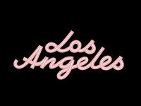 LA Neon Sign