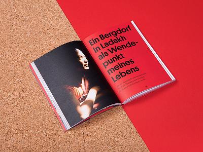 Wandern wirkt Typography biography travel red studio marie zieger christian hlade wandern wirkt typography editorial design editorial book design book