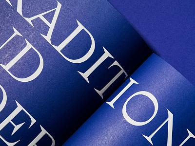 Leoben chronicle white typography studio marie zieger iron white foil leoben editorial design blue art direction book design book