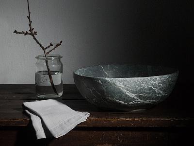 Stonemade studio marie zieger logo design logo art direction kitchen natural stone tableware mörz naturstein print packaging branding