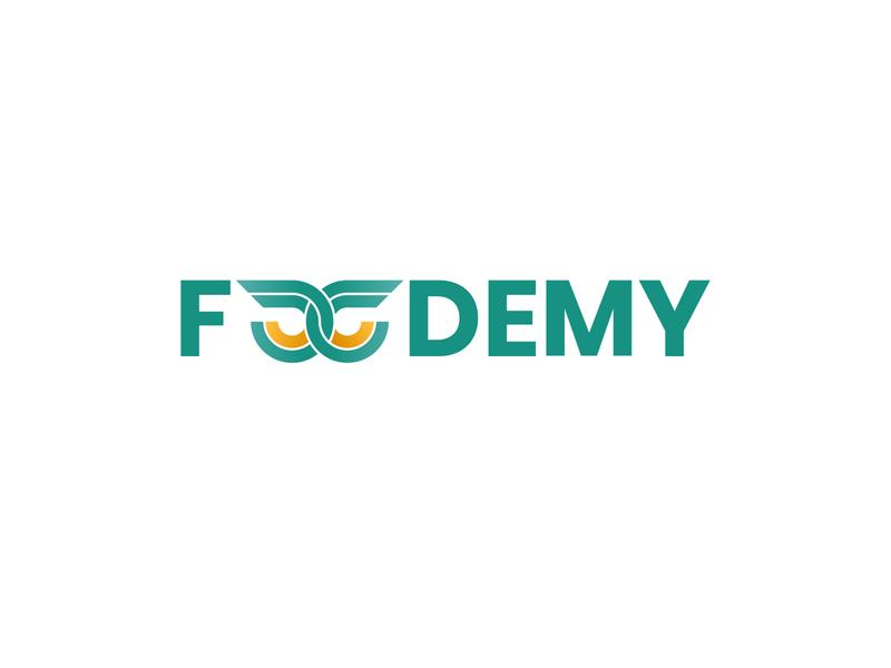 FOODEMY adobe illustrator adobe logo design branding logo mark logo design graphicdesign foodlogo rebranding branding design branding logotype logo