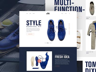 Survival Kit adidas dixon tom apparel shoes fashion site design web website