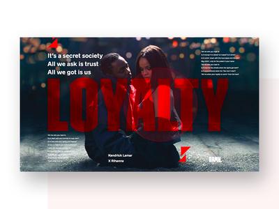 Loyalty 🔥