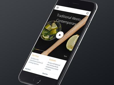 Saké Shop responsive brand toji sake website business ecommerce shopping mobile