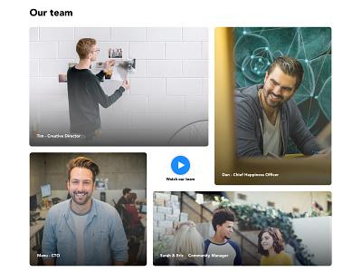 Careers gallery webdesign web website design ui careers grid