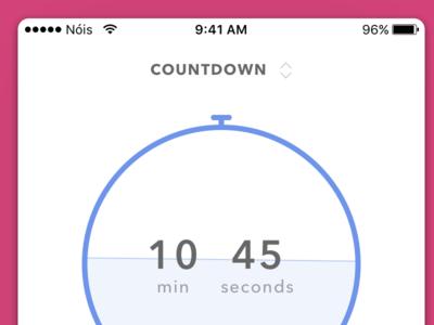 #dailyui 1 - Countdown timer