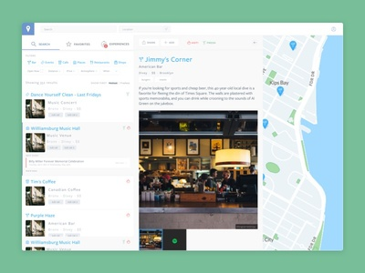 Map + Dashboard - WIP