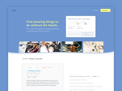 New Landing Page for Dorsia.io