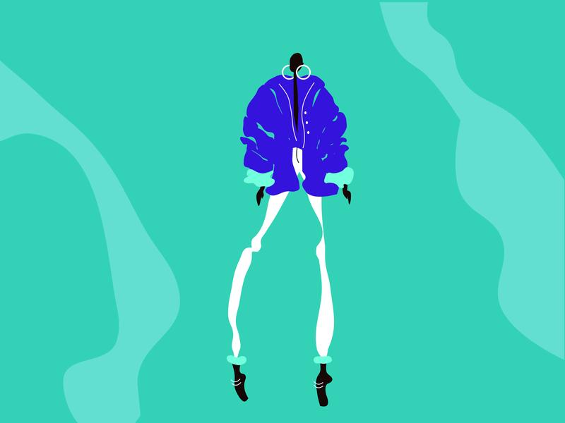Fashion Illustration illustration woman figma fashion