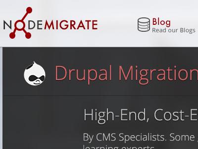 Migration marketing portfolio web design drupal migrations