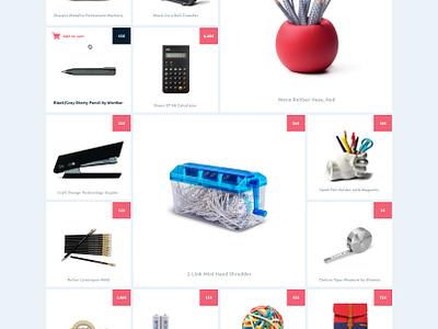 Clean e-commerce website e-commerce e-shop. redesign website flat clean marketplace