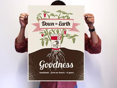 Dribbble poster