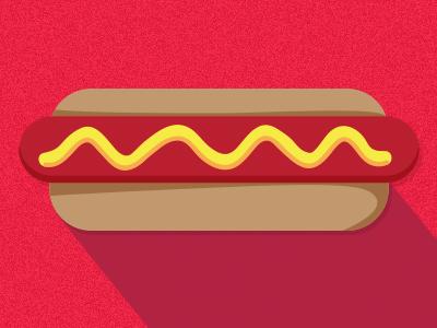 Dribbble hotdog