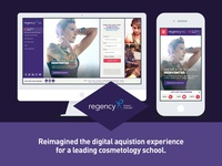 Regency Beauty Responsive Website