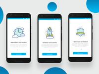 Langauge App Walkthrough Screens