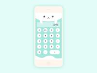 Artic seal calculator UI