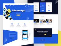 Adova || Landing Page