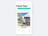 Mobile Travel app