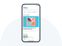 Reading Application Concept