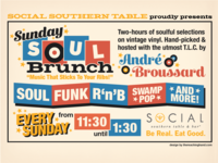 Sunday Soul Brunch — Promo Graphic